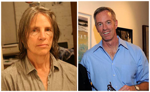 Eileen Myles and Mike Carroll, who will speak on the subject of contemporary art Aug. 20 at the Provincetown Art Association and Museum.