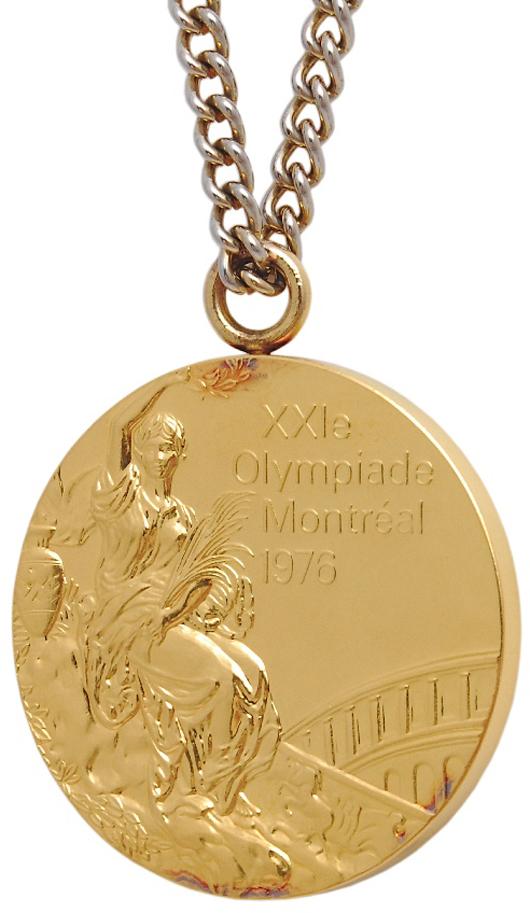 1976 Walter Davis USA Basketball Olympic Gold Medal (Davis LOA). Grey Flannel Auctions image.