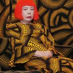 Yayoi Kusama in Yellow Tree furniture room at Aich triennale, Nagoya, Japan, 2010 (detail). © Yayoi Kusama. Image courtesy Yayoi Kusma Studio Inc.; Ota Fine Arts, Tokyo; Victoria Miro Gallery, London; and Gagosian Gallery New York