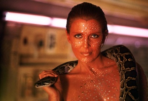 Cassidy played a snake-dancing replicant in the futuristic sci-fi thriller Blade Runner (1982).