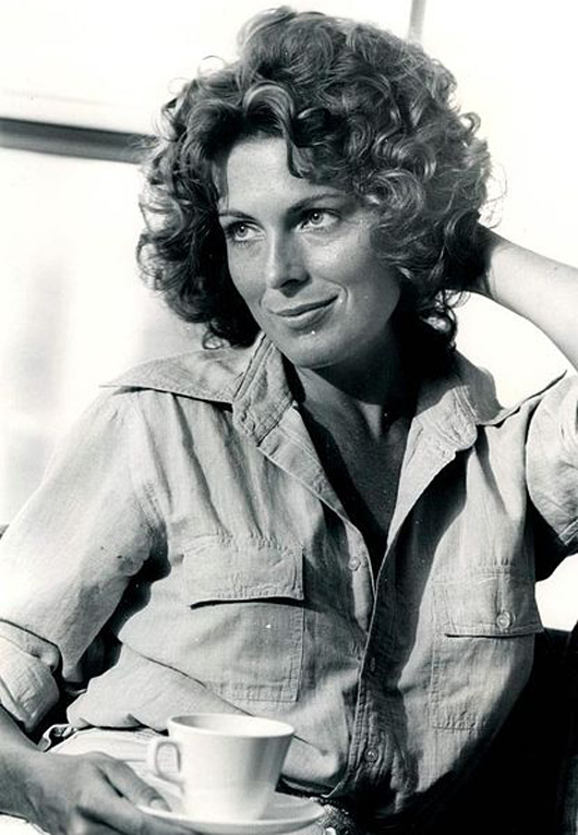 Joanna Cassidy in 1974, around the time she arrived in Los Angeles to launch her film career.