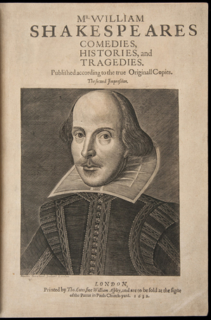 Second folio edition of 'Mr. William Shakespeares Comedies, Histories, and Tragedies. Published according to the true Originall Copies,' 1632, the first printing, first issue in the rare Aspley imprint. Estimate: $200,000-$300,000. PBA Galleries image.