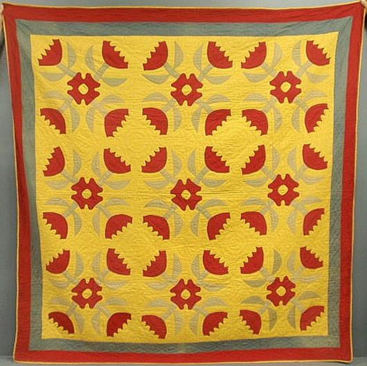 One of several quilts. Wiederseim Associates Inc.