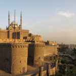 The 12th-century Saladin Citadel in modern-day Cairo. This file is licensed under the Creative Commons Attribution-Share Alike 2.0 Generic license.