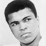 Muhammad Ali in a 1967 photograph. Image courtesy Wikimedia Commons.