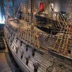 The portside view of the warship Vasa. Image courtesy Wikipedia Commons.