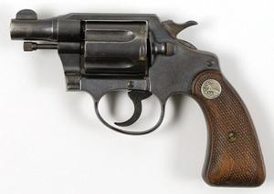 Bonnie Parker's Colt .38 snub-nose Detective Special .38 revolver sold for $264,000. Image courtesy of RR Auction.