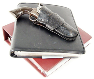 Butch Cassidy's 'amnesty' Colt SAA .45 gun with holster and extensive documentation, sold to a LiveAuctioneers bidder for $175,000. Image courtesy of LiveAuctioneers.com Archive and California Auctioneers.