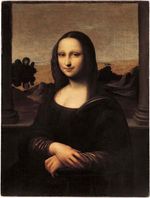 The Isleworth Mona Lisa. Image courtesy of Wikimedia Commons.