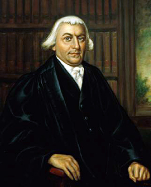 The official portrait of Supreme Court Justice James Iredell. Image courtesy of Wikimedia Commons.