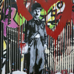 Mr. Brainwash (AMERICAN 1966) 'Charlie Chaplin.' Trinity International image.