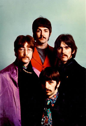 The Beatles, circa 1968. Image courtesy LiveAuctioneers.com and RoGallery.com.