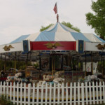 A C.W. Parker Co. carousel in Tucson, Ariz. Image by MadMaxMarchHare. This file is licensed under the Creative Commons Attribution-Share Alike 3.0 Unported license.