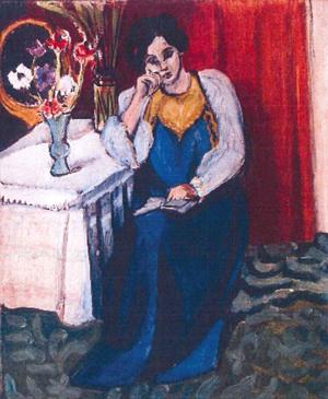 Henri Matisse, 'La Liseuse en Blanc et Jaune,' 1919. Image courtesy of Rotterdam Police.