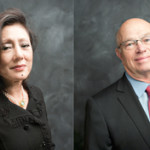 Sueyun Locks and Dean C. Pappas, newly appointed Trustees at the Philadelphia Museum of Art.