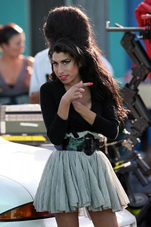 Singer Amy Winehouse (1983-2011) photographed May 27, 2007 in Los Angeles. Photo by Jonwood2, licensed under the Creative Commons Attribution-Share Alike 2.5 Generic, 2.0 Generic and 1.0 Generic license.
