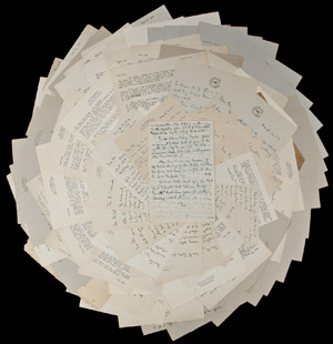 An extraordinary archive of letters from lyricist Ira Gershwin, offering rare insights into the mind and method of his brother and collaborator, composer George Gershwin. Estimate: $80,000-$120,000. PBA Galleries image.