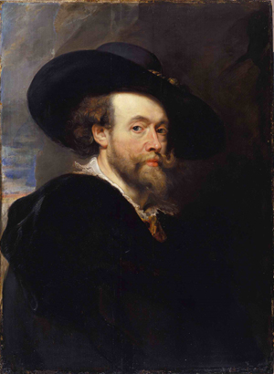 Rubens, Peter Paul, self-portrait, 1623. National Gallery of Australia, Canberra. Image sourced through Wikimedia Commons.
