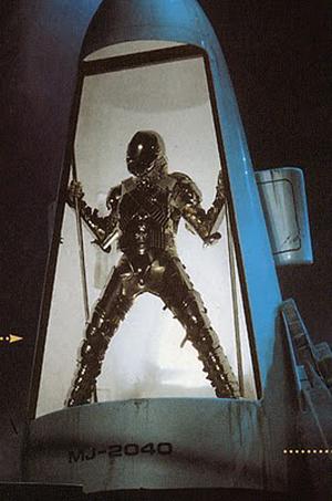 Michael Jackson spaceship. Premiere Props image.