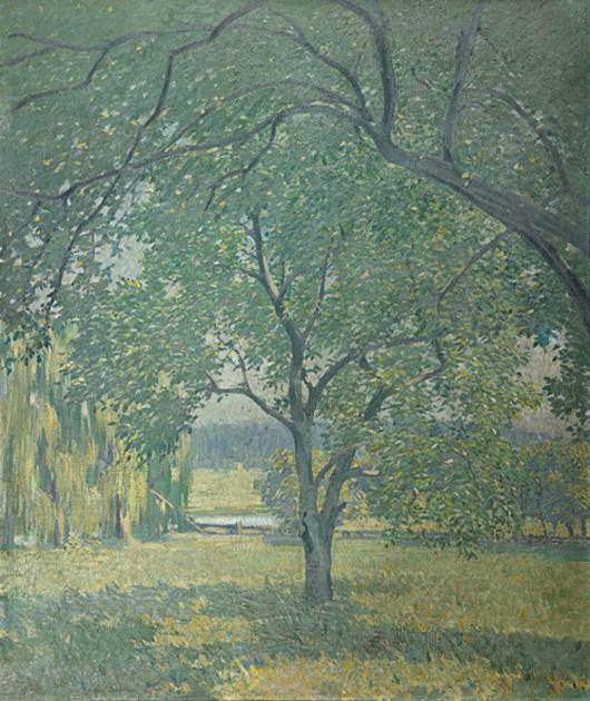 Robert Spencer, untitled, price realized: $35,000. Rago Arts & Auction Center image.