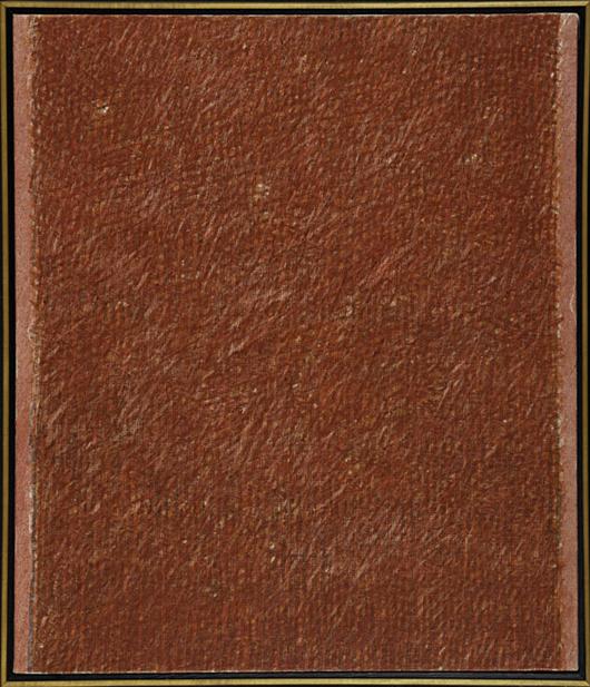 Piero Dorazio, 'Romance,' price realized: $75,000. Rago Arts & Auction Center image.