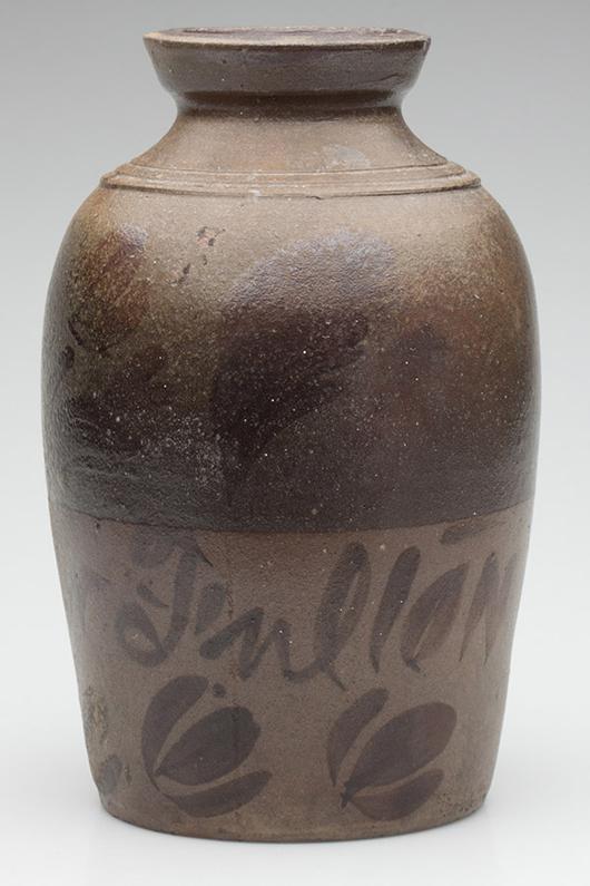 George N. Fulton canner, $1,380. Jeffrey S. Evans image.