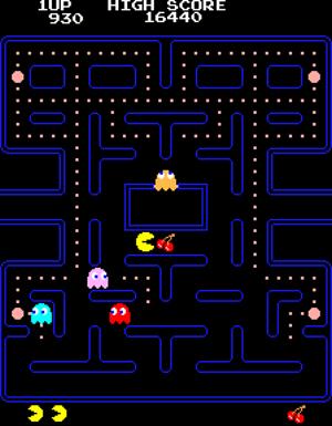 Pac-Man. Toru Iwatani (Japanese, born 1955). Publisher: NAMCO BANDAI Games Inc. 1980-1981. Video game. Gift of NAMCO BANDAI Games Inc. © 2012 NAMCO BANDAI Games Inc.