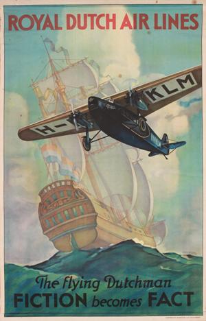 Lot 108A Jan Wijga (1902-1978) Royal Dutch Air Lines, 1926. Estimate: £700-1,000. Onslows Auctioneers image.
