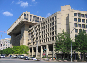 The J. Edgar Hoover Building, headquarters of the Federal Bureau of Investigation in Washington, D.C. Image by Aude. This file is licensed under the Creative Commons Attribution-Share Alike 3.0 Unported license.