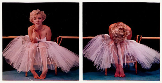 Marilyn Monroe photographs by Milton H. Greene. Lifetime print, exposition date: 1954. Estimate: 5,000-30,000 Polish zloty ($1,598-$9,596). DESA Unicum image.
