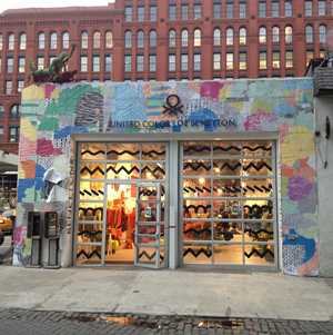 Popup Shop by United Colors of Benetton, New York City. Photo by Kelsey Savage.
