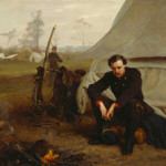 'At the Front,' George C. Lambdin, 1866, oil on canvas. Detroit Institute of Arts.