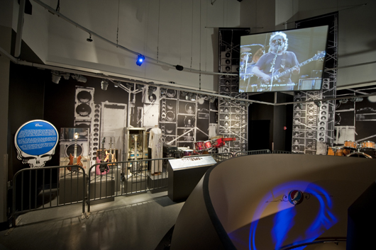 'Grateful Dead: The Long, Strange Trip' exhibit. Rock and Roll Hall of Fame.