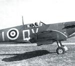 Supermarine Spitfire Mk I, 19 Squadron. Official RAF photo, 1940.