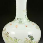 Chinese famille rose vase. Kaminski Auctions image.