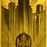 1927 German movie poster for Fritz Lang's sci-fi classic 'Metropolis.' Purchased by Ralph DeLuca as part of a 9-piece group lot for $1.2 million. Image: RalphDeLuca.com