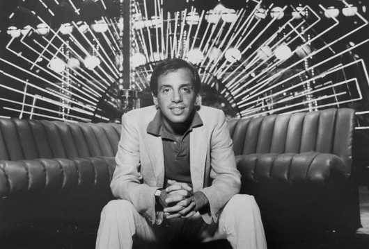Photo of Steve Rubell in a relaxed pose at Studio 54. Auctioned for $540. Image supplied by Palm Beach Modern Auctions.
