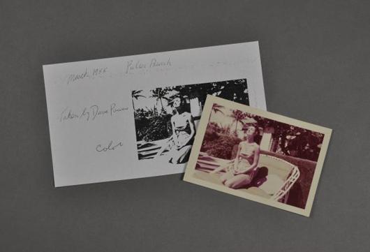 Photograph of Jackie, 1955. John McInnis Auctioneers image.
