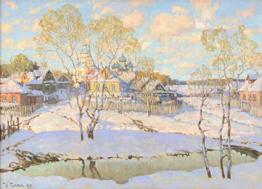 Konstantin Ivanovich Gorbatov. Trinity International Auctions image.