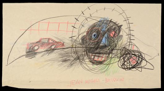 Jean Michel Basquiat. Trinity International Auctions image.