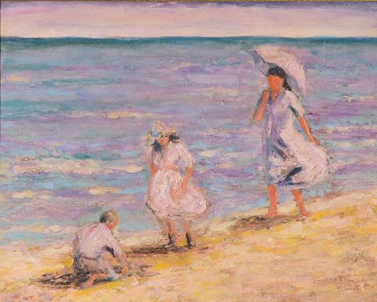 Cecelio Pla-Y Gallardo. Trinity International Auctions image.