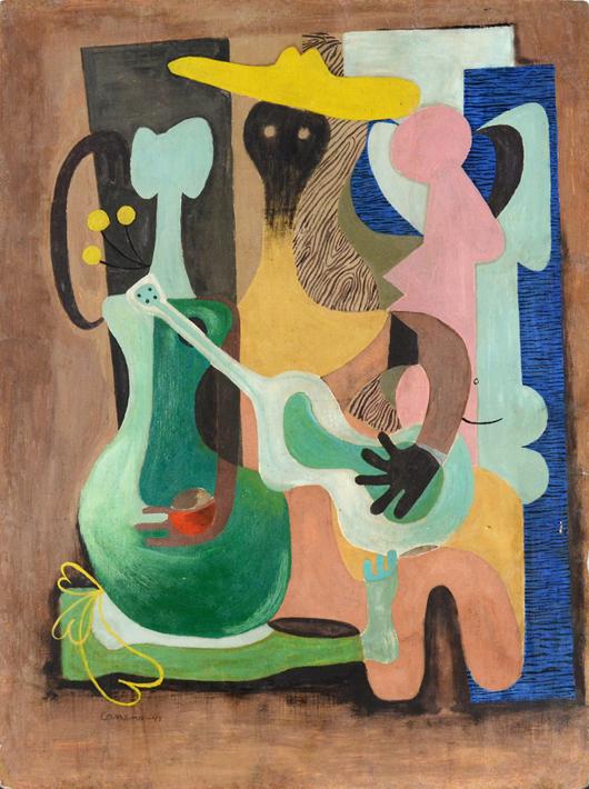 Mario Carreno. Trinity International Auctions image.