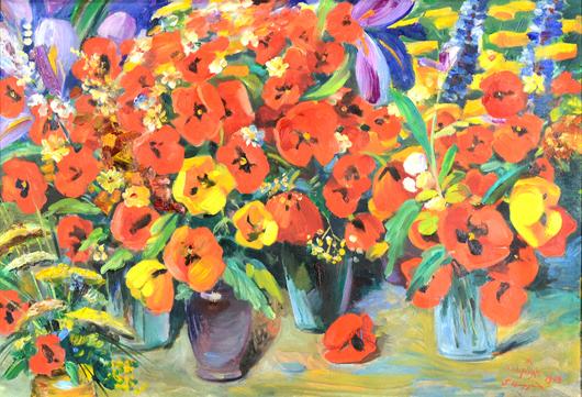 Martiros Saryan. Trinity International Auctions image.