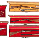 Browning Centennial Set: $7,500. Cordier Auctions & Appraisals image.
