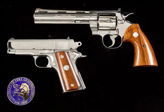 Colt 1986 Double Diamond Set: $4,200. Cordier Auctions & Appraisals image.