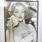 Marilyn Monroe autographed picture. America's Best Auctioneer image.