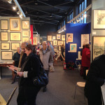 The annual Watercolours & Works on Paper Fair, which began this week and continues until Sunday, Feb. 3, at the Science Museum in South Kensington. Image Auction Central News.