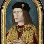 The earliest surviving portrait of King Richard III of England, painted circa 1520. Image courtesy Wikimedia Commons.