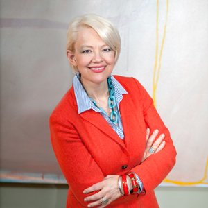 Kim Sajet, incoming director of the Smithsonian's National Portrait Gallery. Image by Wendy Concannon, National Portrait Gallery.