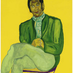 Beauford Delaney (1901-1979), 'Portrait of a Young Musician,' n.d. Acrylic on canvas, 51 × 38 inches. Studio Museum in Harlem, gift of Ms. Ogust Delaney Stewart, Knoxville, Tenn. © Estate of Beauford Delaney, by permission of Derek L. Spratley, Esquire, Court Appointed Administrator.
